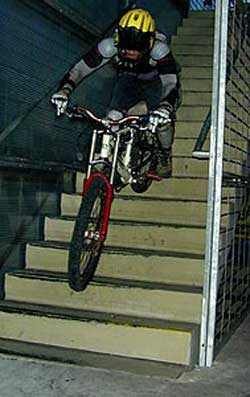 Was hatt'n das Rumgelulle mit Mountainbiken zu tun?