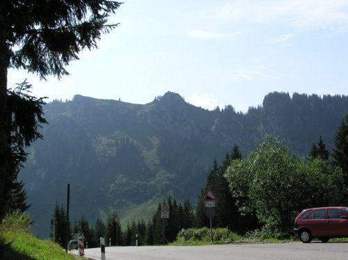 Blick zurück gen Obermaiselstein