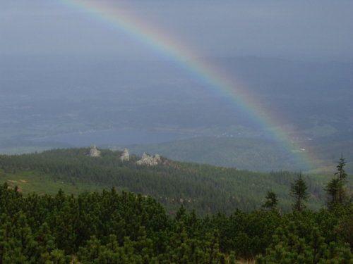 Regenbogen rechts