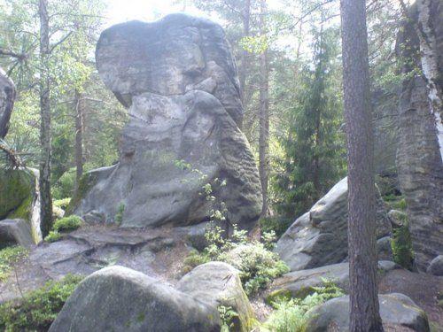 Felsen am Sokol - Kalich
