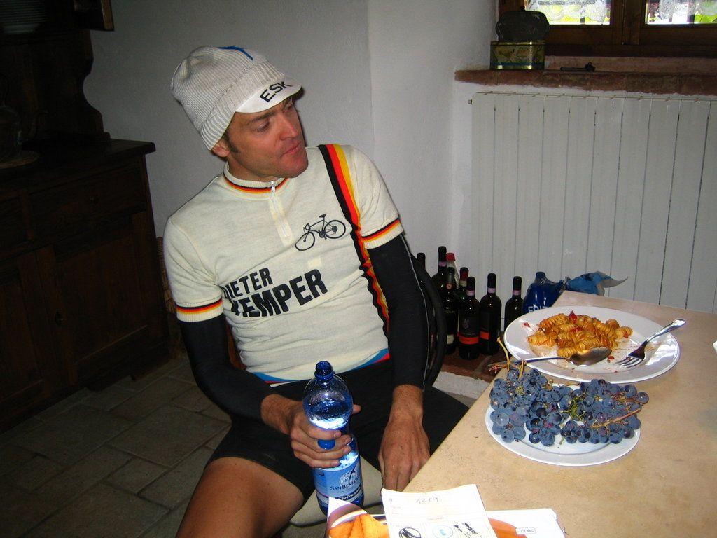 Dieter Kemper nach dem Rennen