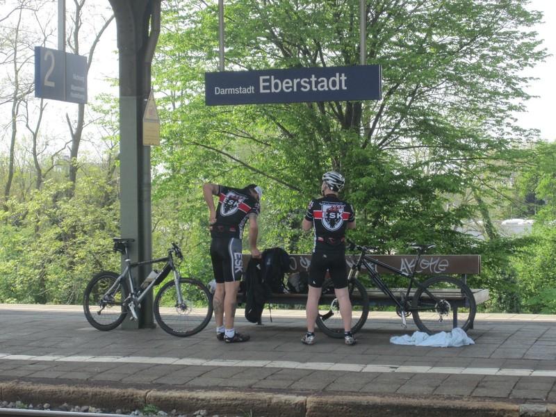 Ankunft Eberstadt