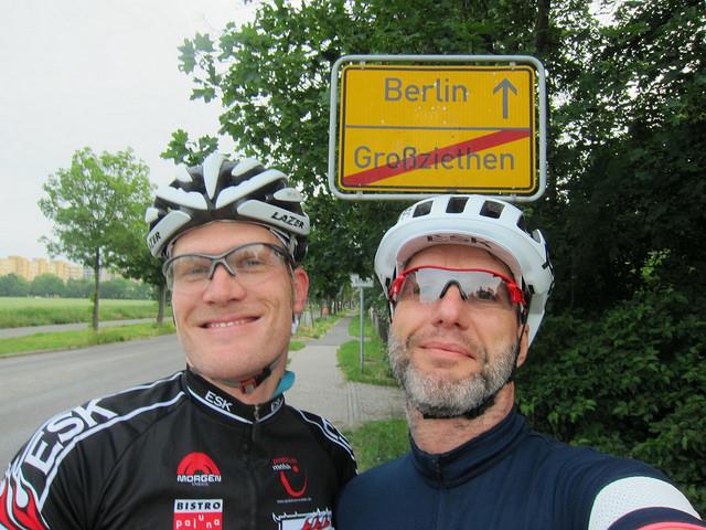 Start Berlin Stadtgrenze